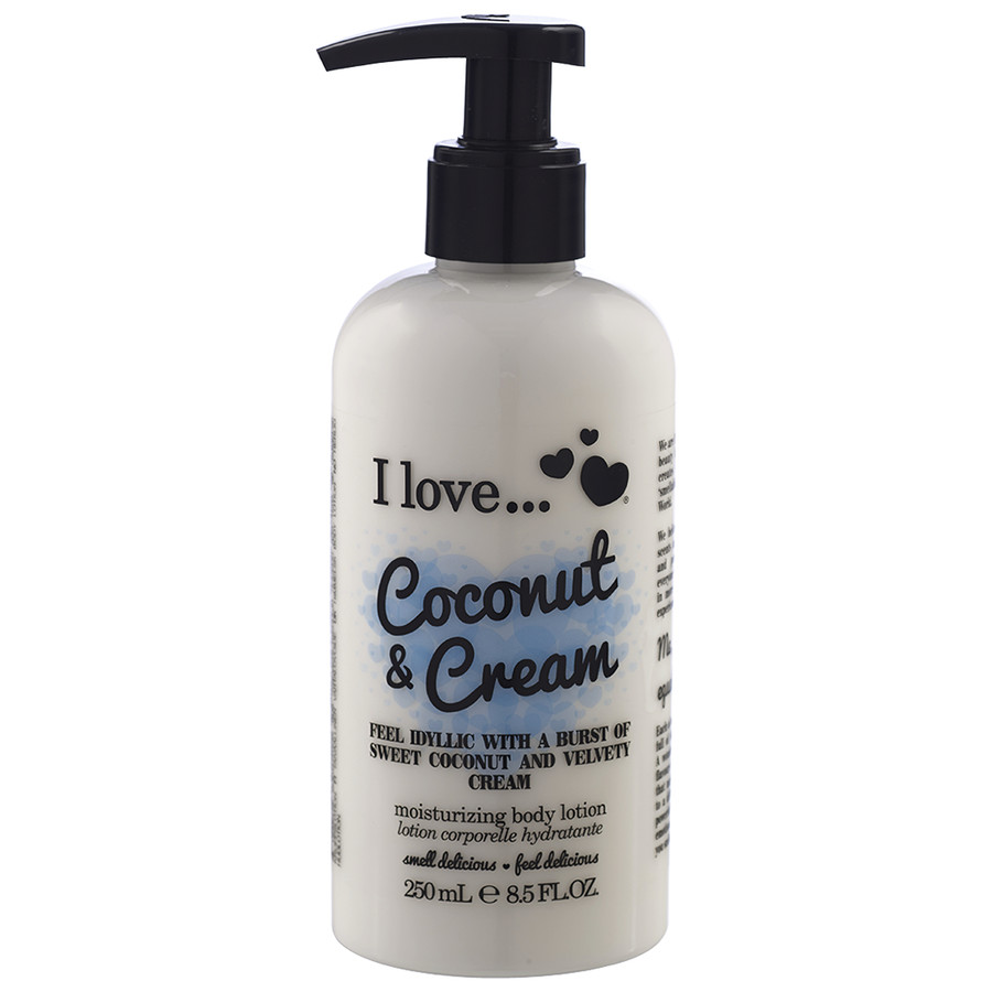 I love...Coconut Cream Body Lotion