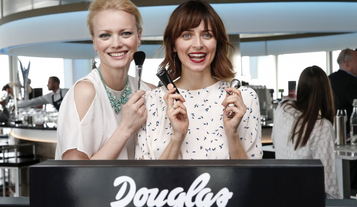 Franziska Knuppe und Eva Padberg beim Douglas Make-up Launch