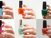 Sommernägel - Frische Trendfarben für die Nägel