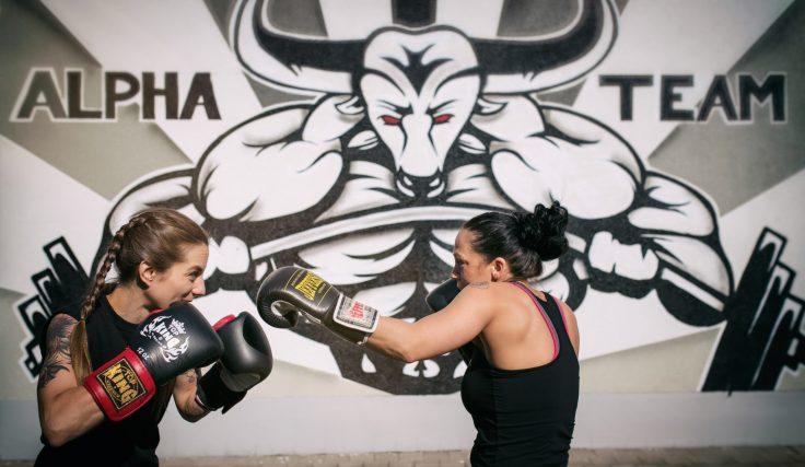 Boxer-Braids beim Sparring